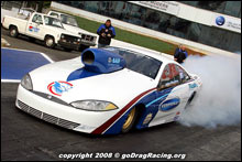 John Pluchino Sporting 815 Cubes Of All Motor In Pro Nitrous