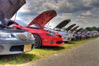 GTOs on the Carlisle Showfield